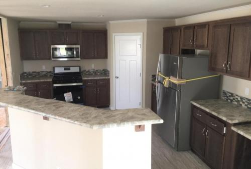 Kitchen with Walk-In Pantry