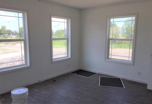 Master Bedroom with 2 Closets