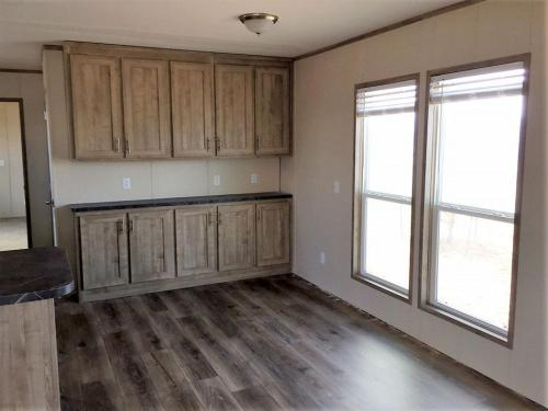 Dinning Area with extra Cabinets