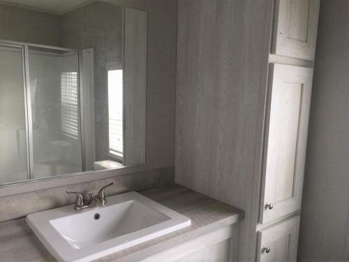 Master Bath with Linen Cabinet