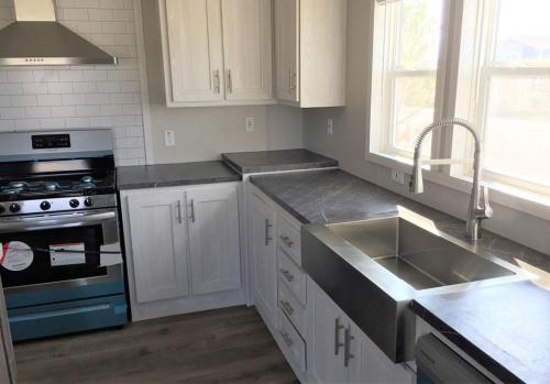 Kitchen Stainless with Farm Sink