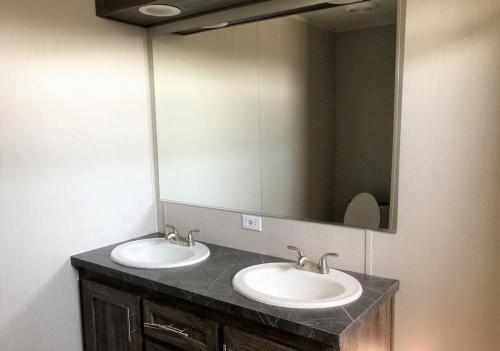 Master Bath and Double Sink Vanity